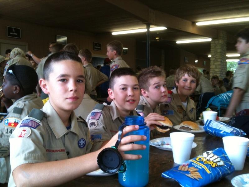 Austin at Summer Camp