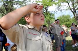 What To Say to Boy Scouts ??